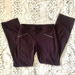 Athletica pants in plum size medium.